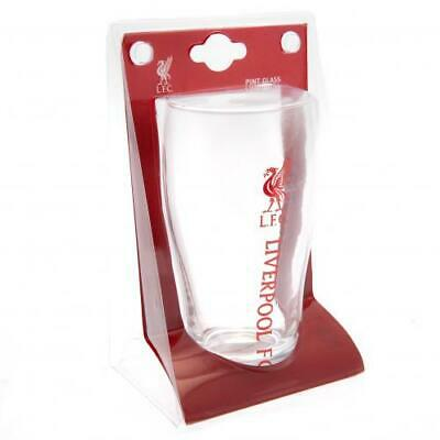 Liverpool FC 15.5CM Tall Tulip Pint Glass Official Merchandise NEW UK • 10.59£