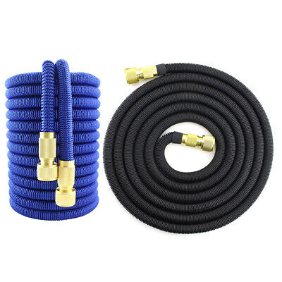 Outdoor Garden Watering Hose Expandable Car Wash Telescopic Magic Hose Pipe • 11.33£