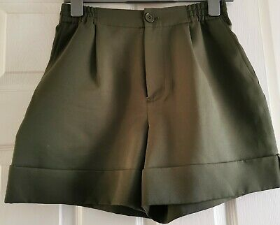 Marc By Marc Jacobs - Green Safari Shorts - Size 4 • 19£