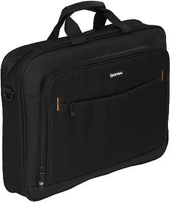 17.3 Inch Laptop Case Bag Business Briefcase Black Durable Padded Carrying Case • 22.64£