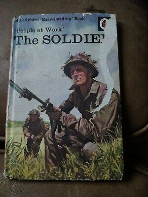 Ladybird Book,The Soldier,People At Work,Series 606B • 1£