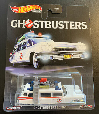 2020 Hot Wheels 1/64 Ghostbusters ECTO 1 Diecast Model GJR39 New Rare Hard Find • 10.81£