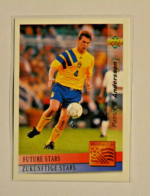 £8.57 • Buy Upper Deck WM World Cup 94 USA/Preview 1993 Patrick Andersson #141 Future Stars