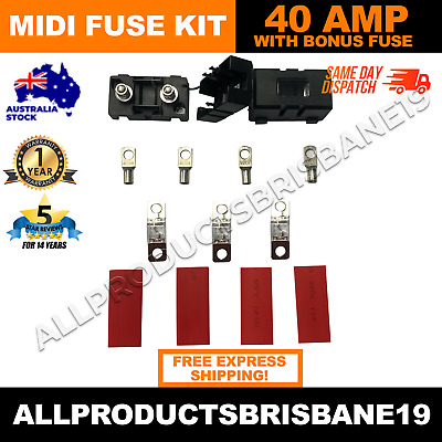 AU30 • Buy Bcdc1225d Midi Fuse Kit 40 Amp To Suit Redarc BCDC1225D + OVERSTOCKED SPECIAL!