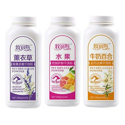 Pretty Baby Pet Dry Cleaning Powder Shampoo Deodorant For Dog/Cat D4E6 • 5.18£