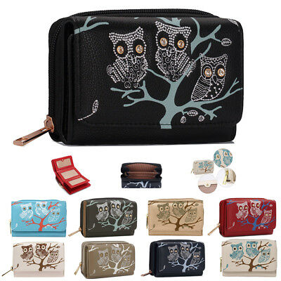 Womens Coin Purses Ladies New High Quality Owl Wallets Girls Card Holder UK Bags • 8.40£
