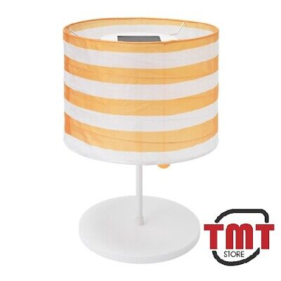 New Ikea Solvinden LED Solar Powered Table Lamp,indoor Outdoor, Yellow/white  • 19.99£