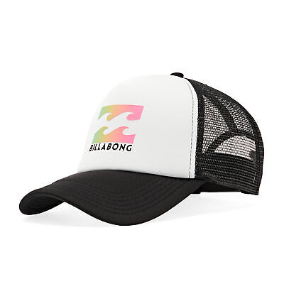 Billabong Podium Trucker Headwear Cap - White One Size • 20.95£