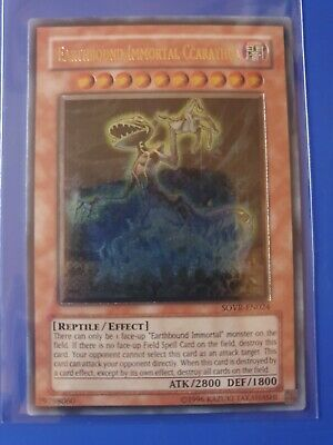 Yugioh Earthbound Immortal Ccarayhua Ultimate Rare Near Mint Sovr-en024 💎 • 11.99£