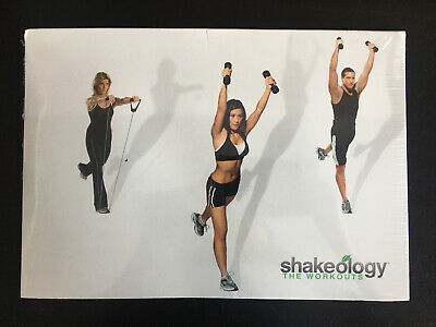 £10.17 • Buy SHAKEOLOGY THE WORKOUTS 2 Disc DVD Set Workout Exercise Fitness 80 Min SEALED