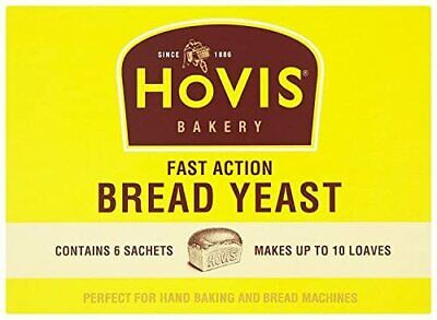 Hovis Bread Yeast Sachets Fast Action Hand Machine Baking 42g Free Delivery • 2.99£