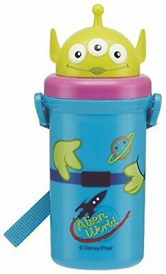 Alien Water Bottle With Straw 550ml Free Shipping With Tracking# New From Japan • 32.18£