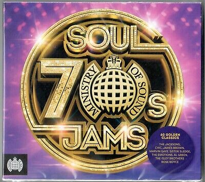 Ministry Of Sound 70s Soul Jams NEW 3XCD Chic Kool & The Gang Trammps The O'Jays • 5.45£