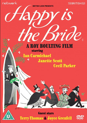 Happy Is The Bride DVD - New & Sealed - Ian Carmichael • 6.95£