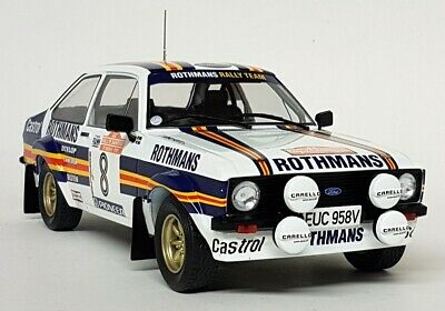IXO 1/18 Scale Ford Escort Mk2 RS 1800 #8 San Remo Rally 1980 Diecast Model Car • 84.99£