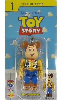 $96.77 • Buy Trading Figure Be Rbrick -Bear Brick- 100 Woody Toy Story With Ball Chain Happy