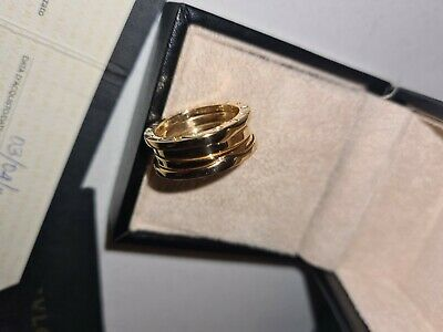 AU1950 • Buy Bvlgari Bzero1 18k Yellow Gold 3 Band Ring