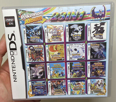 AU39.42 • Buy 23 In 1 Nintendo DS Multi Cart Pokemon Games 23 Pokemon Games FAST SHIPPING!!