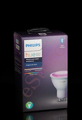 AU170 • Buy 2 X Philips Hue White And Color Ambiance GU10 Bluetooth Enabled (BNS)