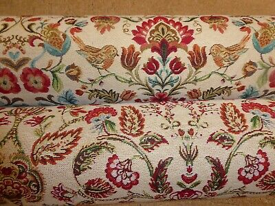 £12.95 • Buy WILLIAM MORRIS STYLE TAPESTRY By Chatham Glyn - Upholstery / Curtain Fabric