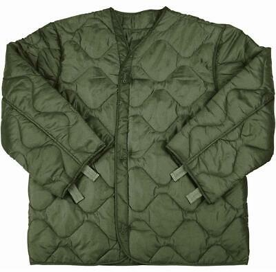 $24 • Buy Rothco Ultra Force M-65 Quilted Olive Drab Green Field Jacket Coat Liner 3xl Reg