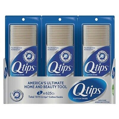$ CDN20.49 • Buy Q-tips Cotton Swabs 1875ct GREAT SERVICE AND FREE SHIPPING!! BEST PRICE!!