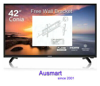 AU219 • Buy CONIA LED TV 42'' Inches FHD HDMI Commercial Display With Free Wall Bracket