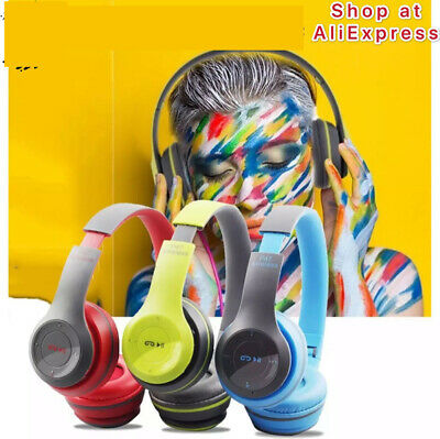 $ CDN16.52 • Buy Wireless Headphones P47 Bluetooth Over Ear Foldable Headset Headphones For Kids