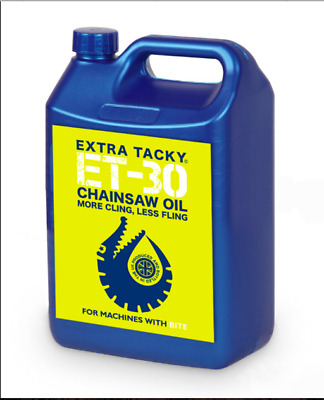 £14.49 • Buy 5 Litres Gator CHAINSAW OIL 100Cst Chain Oil Guide Bar Pump For All Saws Stihl
