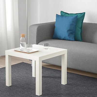 Ikea Lack Side Table White Coffee Square Table Small Home Office Stylish  • 24.99£