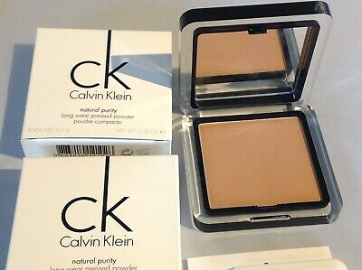 2 X Calvin Klein '102 Honey' Natural Purity Long Wear Pressed Powder • 14.99£