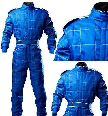 £78 • Buy ADULT BLUE Race Suit Overall Single Layer SFI3.2A/1 Proban Oval Banger