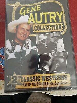 £5.07 • Buy Gene Autry Collection: Man Of The Frontier / Oh, Susannah (DVD) NEW