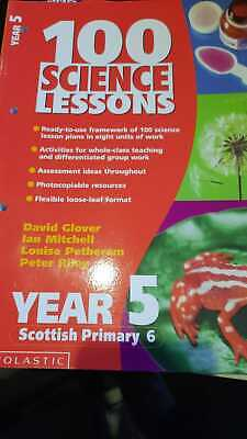 100 Science Lessons Year 5 Scholastic 2001 - Great Homeschooling Book. • 3£