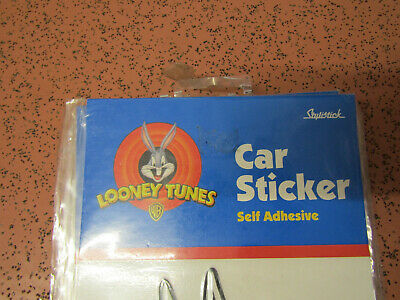 Stylistick Looney Tunes Self Adhesive Car Sticker (white) Road Runner New Old St • 2.95£
