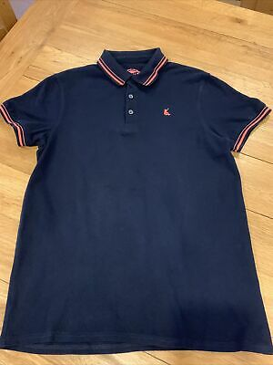 Boys Blue Zoo Polo Shirt Age 12-13 Years In Dark Navy From Debenhams • 2£
