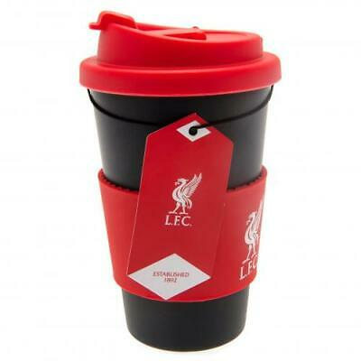 Liverpool FC 400ML Silicone Grip Plastic Travel Mug Official Merchandise NEW UK • 9.89£