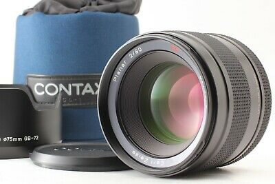 $ CDN4430.99 • Buy [ALMOST UNUSED W/ Hood] Contax Carl Zeiss Planar T* 80mm F/2 For 645 From JAPAN