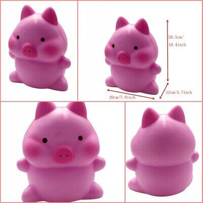 AU35.14 • Buy Adorable Squishies Cute Jumbo Pig Slow Rising Cream Scented Stress Relief Toys