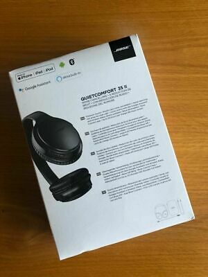 $ CDN315.84 • Buy Bose QC35II QuietComfort 35 II Noise Cancelling Headphones Black