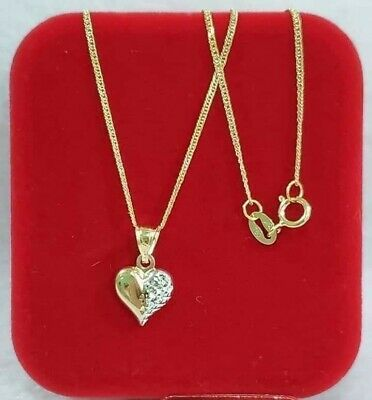 AU180 • Buy 18k Pure Gold Heart  Pendant Only 100% Genuine Gold