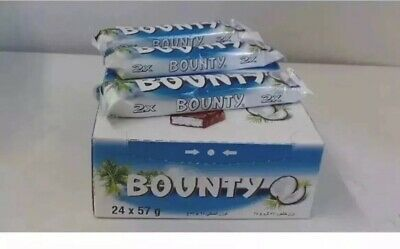 Bounty Chocolate Coconut 57g Bars X 12 / 24 Bars Best Offer  • 15.99£