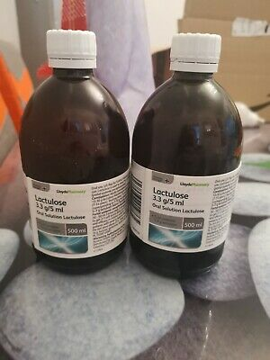 Lactulose Oral Solution 2*500ml • 8.50£