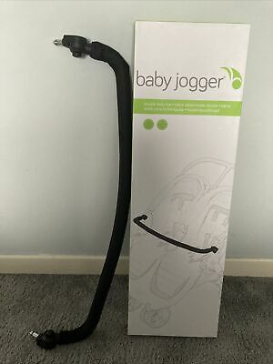 Baby Jogger City Mini Double Belly Bumper Bar Pushchair Buggy Black • 30£