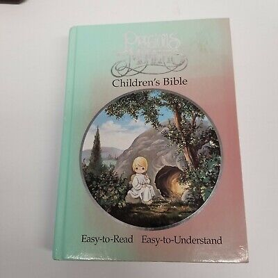 £14.46 • Buy Vintage 1990 Precious Moments Children's Bible, Illustrated, Hardcover