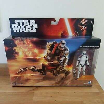 Star Wars Assult Walker Toy Action Figure Playset With Stormtrooper Brand New • 13.99£