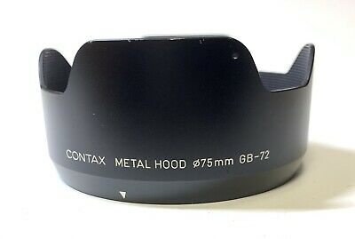 $ CDN139.25 • Buy [N MINT] Contax GB-72 Metal Lens Hood For Contax 645 Planar 80mm F2 From JAPAN