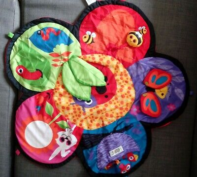 Used Lamaze Garden Baby Play Mat ONLY NO SPINNER • 8£