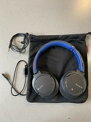Sony MDR-ZX770BNBluetooth Noise Cancelling Headphones - Great Condition • 20£