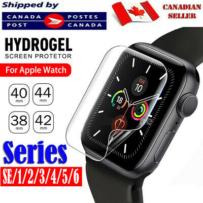 $ CDN3.39 • Buy Premium Screen Protector Cover For Apple Watch Series 1 2 3 4 5 6 SE